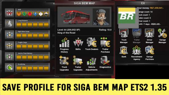 SAVE GAME (PROFILE) FOR PROMODS 2 40 ETS2 1 34 » GamesMods