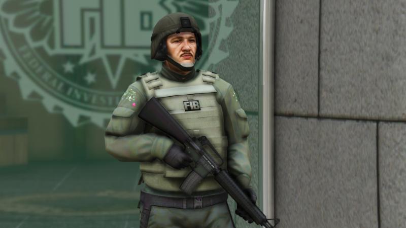 FIB SWAT PED 1 0 » GamesMods net - FS19, FS17, ETS 2 mods