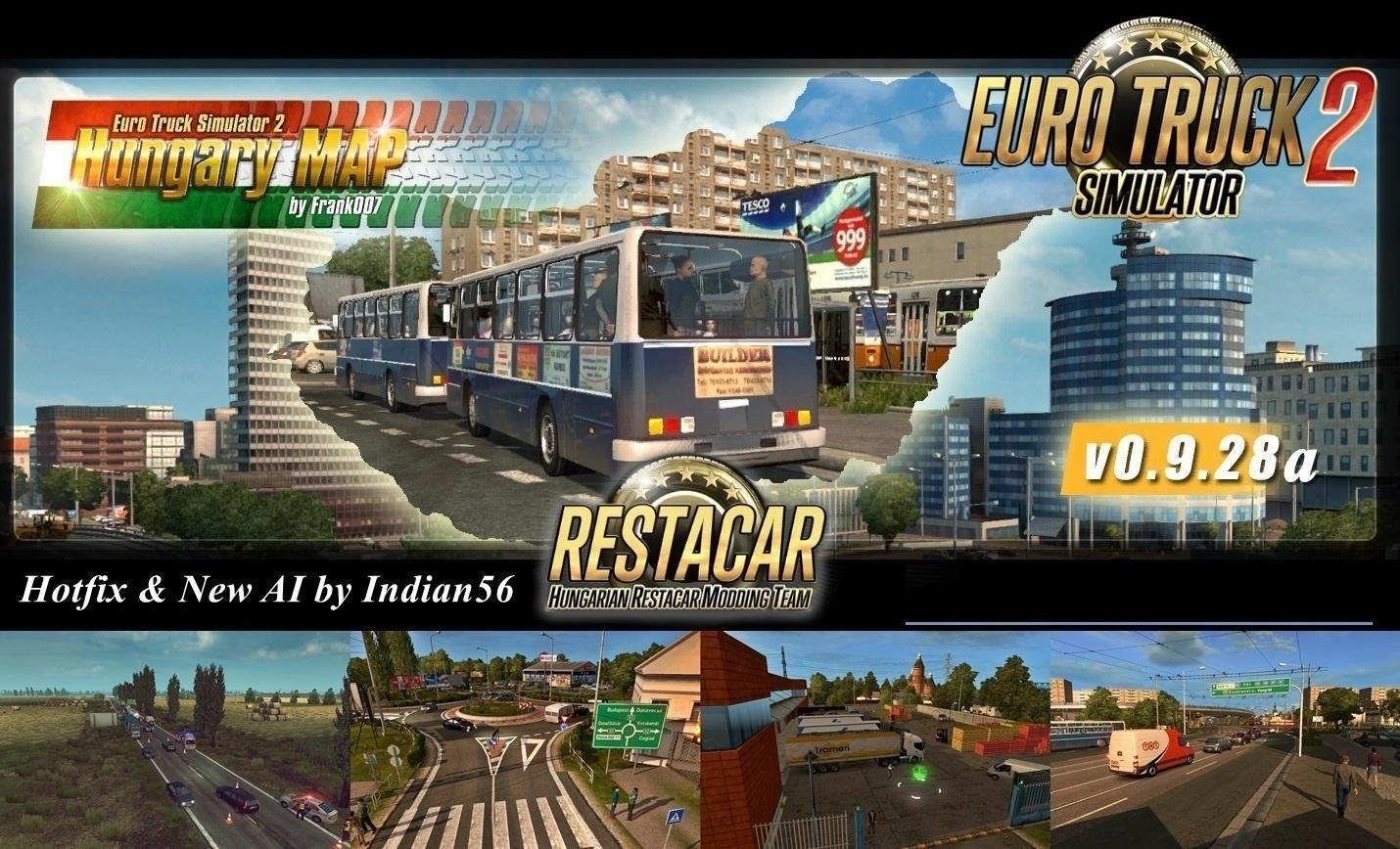euro truck simulator 2 mods download map