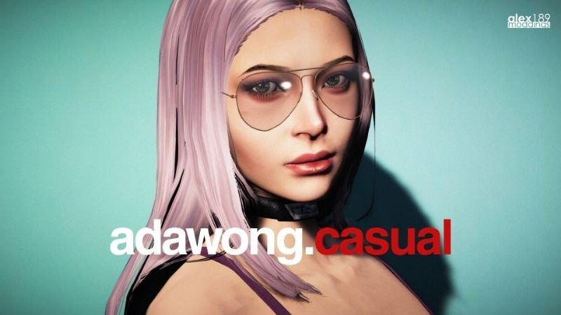 Ada Wong Custom Casual Add-On Ped | Replace v1 0 » GamesMods net