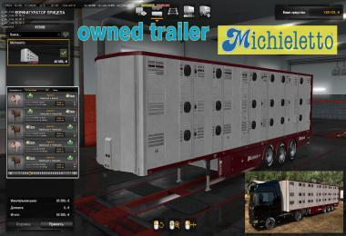 OWNABLE LIVESTOCK TRAILER MICHIELETTO V1.0.1