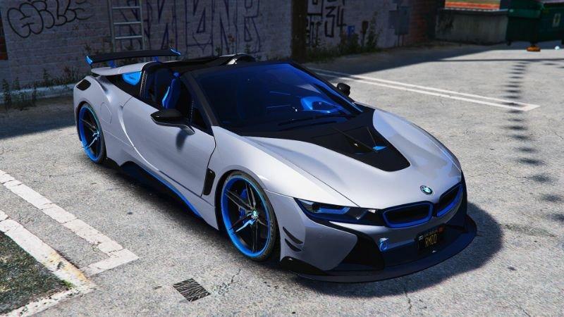 BMW I8 Roadster AC Schnitzer Add-On/OIV 1 0 » GamesMods net
