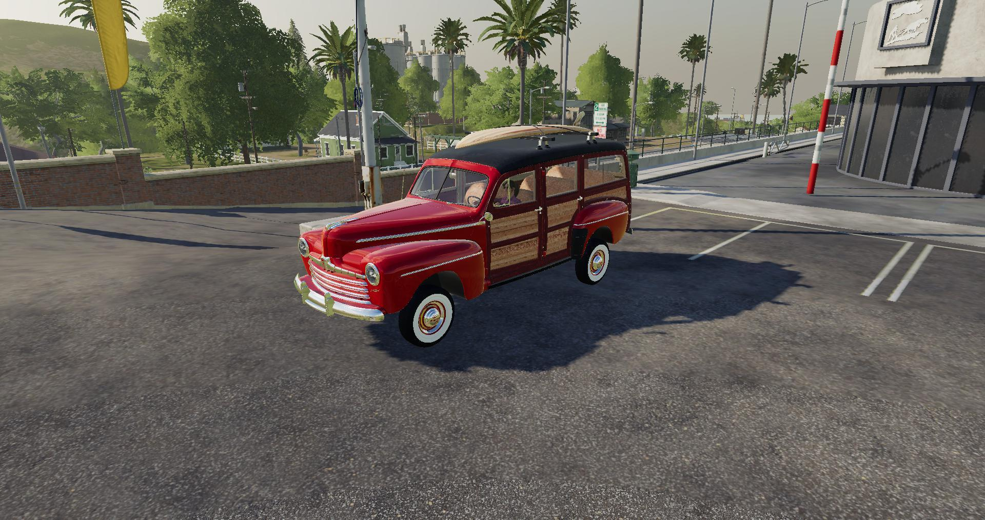FORD WOODY V1 0 0 0 » GamesMods net - FS19, FS17, ETS 2 mods