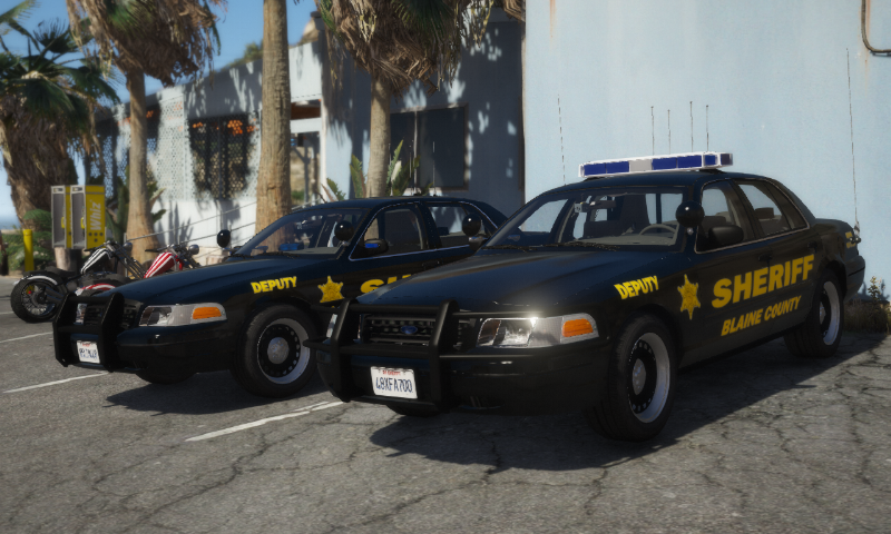 2000 Ford Crown Victoria P71- Blaine County Sheriff's Office