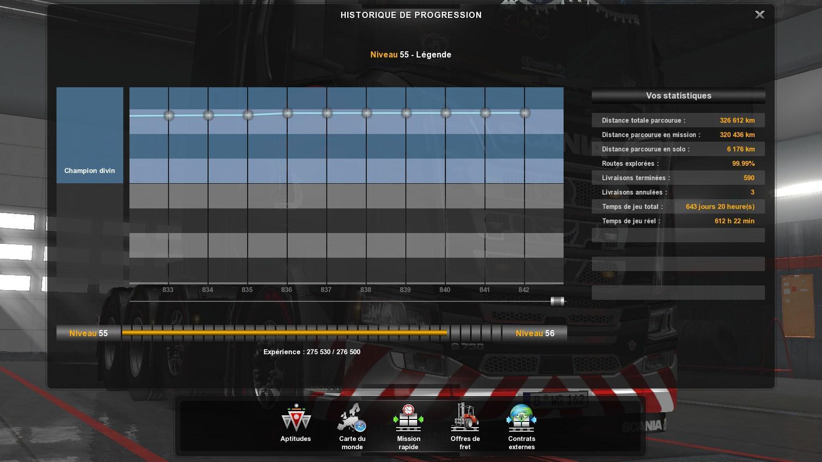 ETS2 – 1 35 NO DLC FINISHED SAVE GAME PROFILE » GamesMods