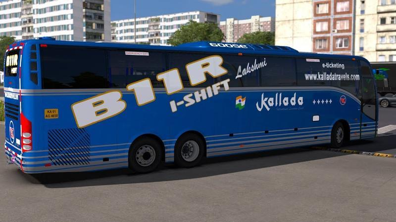 BUS VOLVO BR11 MORE REPAINTS 1 35 X » GamesMods net - FS19