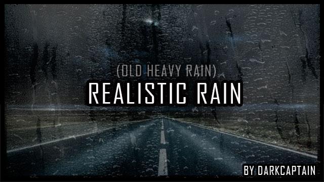REALISTIC RAIN V2 4 1 ETS2 1 35 X » GamesMods net - FS19