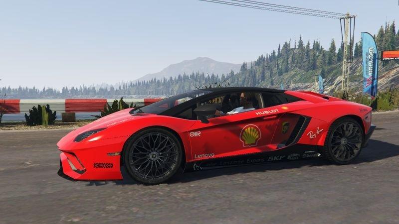 Lamborghini Aventador S Roadstar - F1 SF90 / 90 Years - Mission