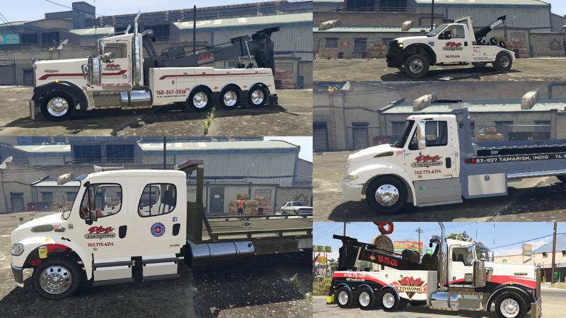 Plaza Towing Truck Textures 1 0 » GamesMods net - FS19, FS17