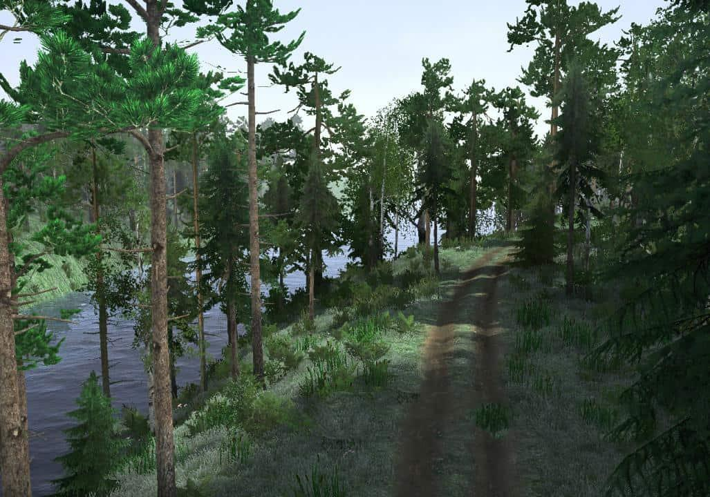 Iron Forest Map v21 07 19 » GamesMods net - FS19, FS17, ETS