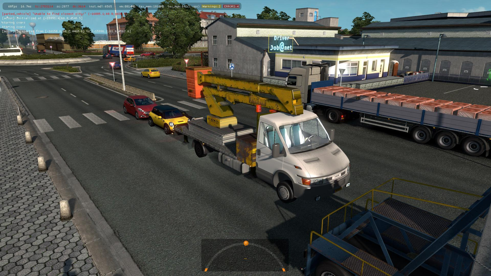 IVECO DAILY SERVICE IN TRAFFIC 1 35 » GamesMods net - FS19