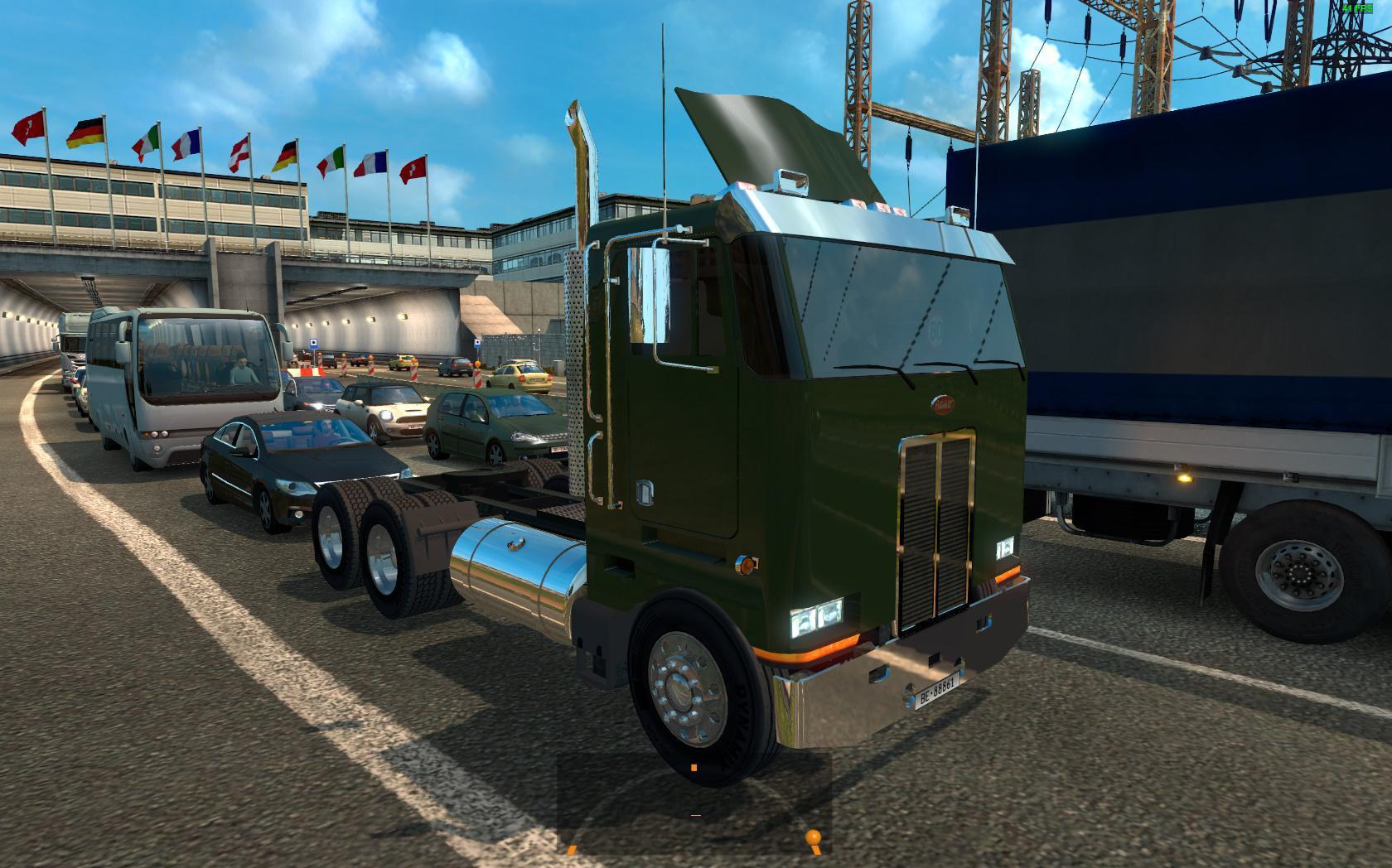 PETERBILT 362 FOR ETS2 TRAFFIC 1 35 X » GamesMods net - FS19