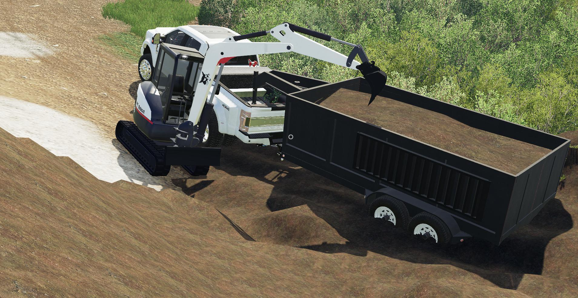 EXP19 DUMPTRAILER AND KST MINI EX V1 0 » GamesMods net