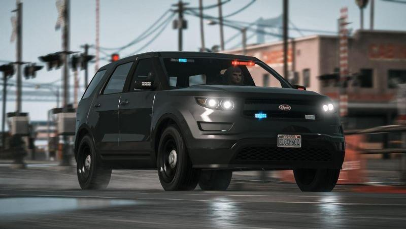 Unmarked Vapid Police Cruiser Utility (Scout) Add-on 1.0 ...