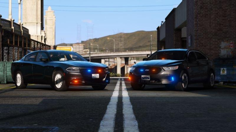 ELS Unmarked Dodge Charger and Ford Taurus 1 0 » GamesMods