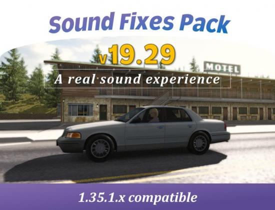 SOUND FIXES PACK V19 29 - ATS + ETS2 » GamesMods net - FS19