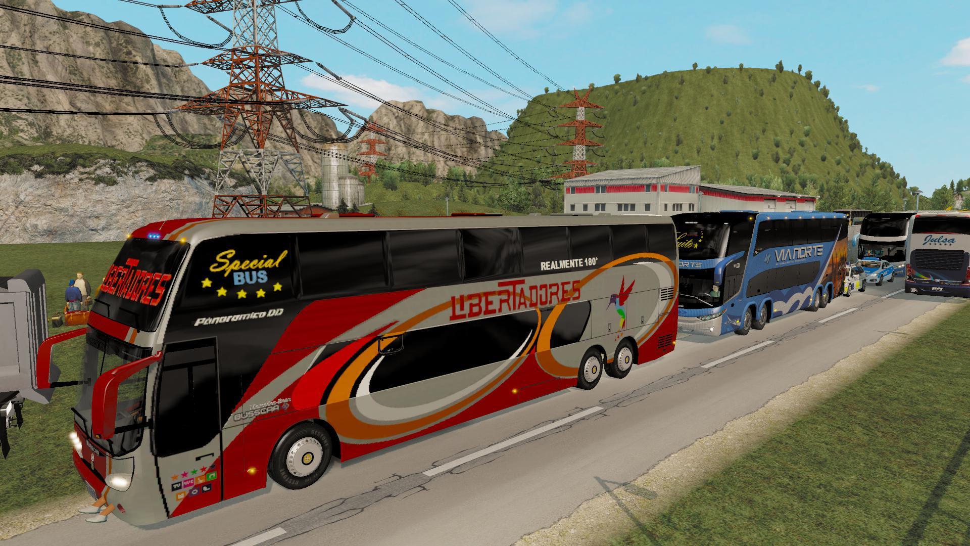 BUS TRAFFIC PACK G7 1 35 » GamesMods net - FS19, FS17, ETS 2