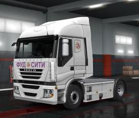 RUSSIAN SKINS PACK FOR SCS TRUCKS V0.3.1 BY MR.FOX