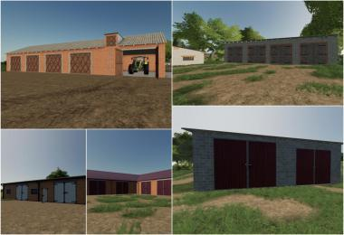 PLACEABLE GARAGE PACK V1.0