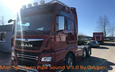 MAN TGX Open Pipe Sound V 5.0