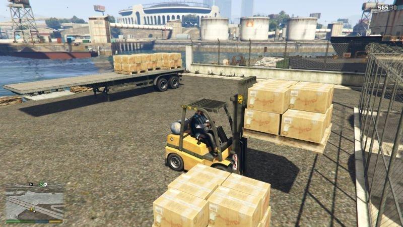 Forklift Mod 1.0 » GamesMods.net - FS19, FS17, ETS 2 mods