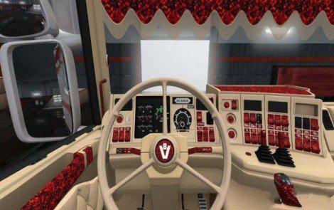 SCANIA HOLLAND STYLE 3-SPOKE STEERING WHEEL 1.36.X