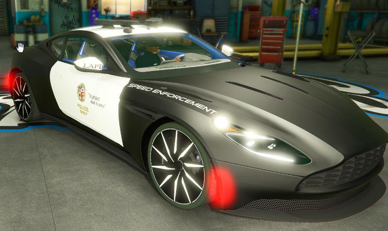 Aston Martin Db11 Los Angeles Police Dept Lapd Edition Lods 4k Skin 1 0 Gamesmods Net Fs19 Fs17 Ets 2 Mods