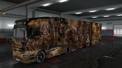Mod Slavs Skin Pack for Scania 2016 v 1.1