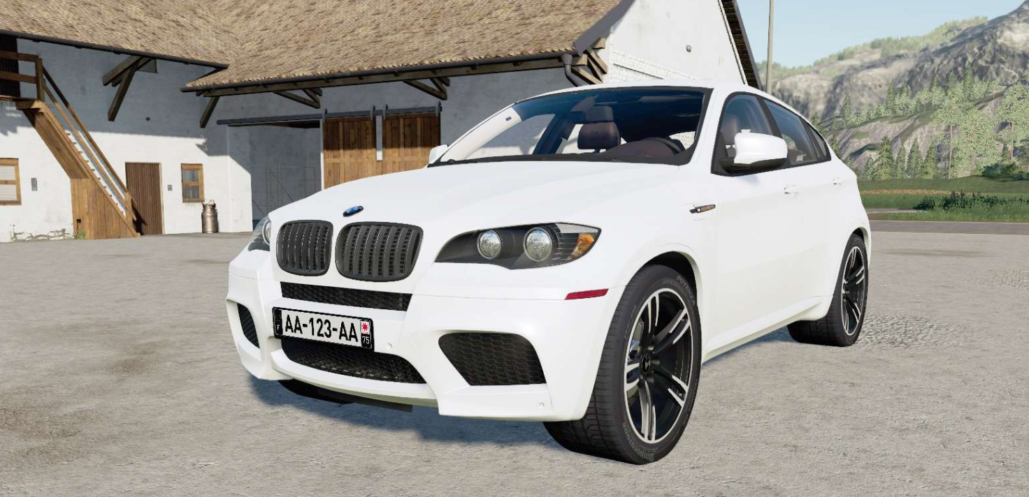 BMW X6 M (E71) 2009 » GamesMods.net - FS19, FS17, ETS 2 mods