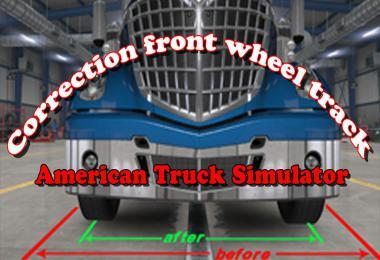 CORRECTION FRONT WHEEL TRACK ADD-ON V1.0