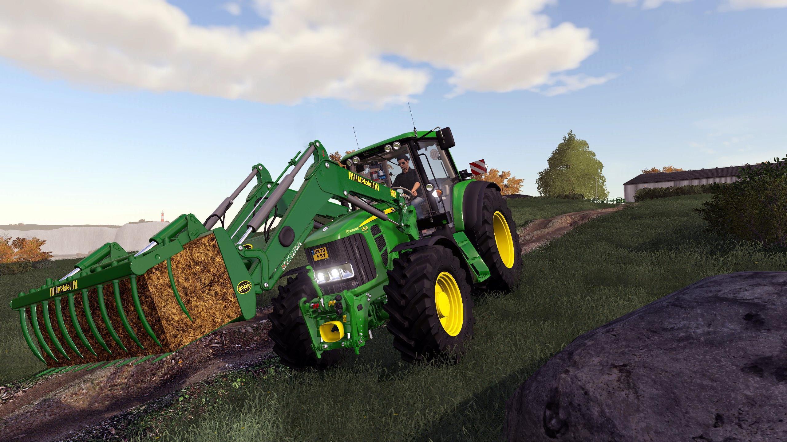 Fendt Favorit 600 LSA Alpha v0.0.0.7 FS2019 - Farming