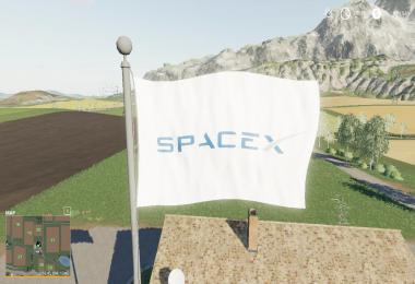 SPACEX FLAG
