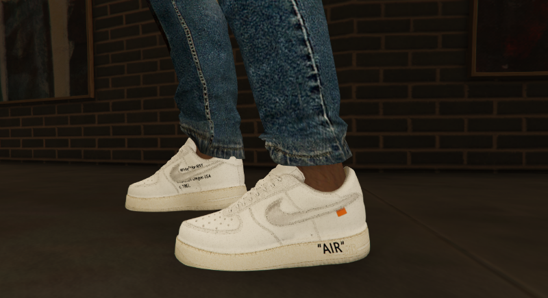 Nike Air Force 1 Low X Off-White X ComplexCon V 1 » GamesMods.net ...