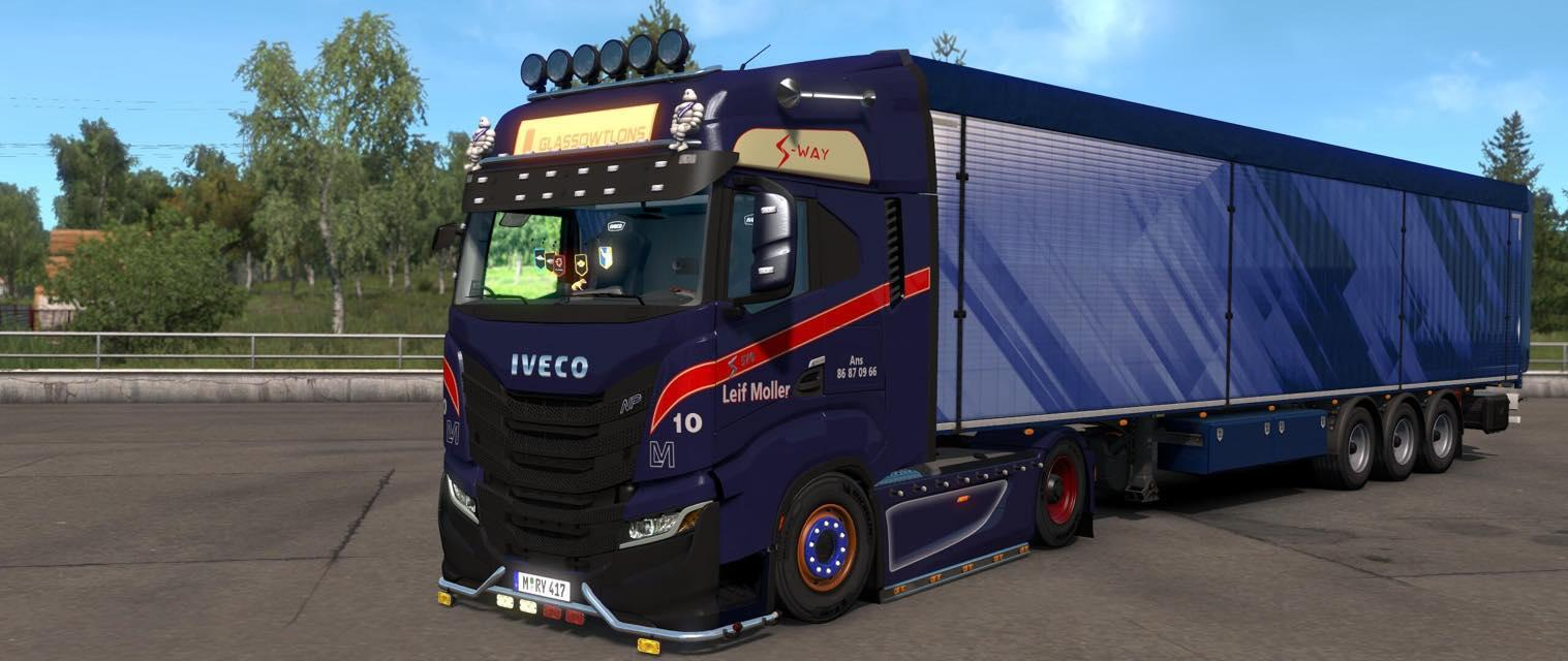 MAN TGX GARBAGE TRUCK TESTED ON 1.18 ETS 2 - Euro Truck