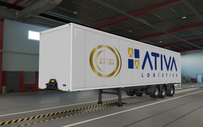 Skin Ativa for SCS trailers