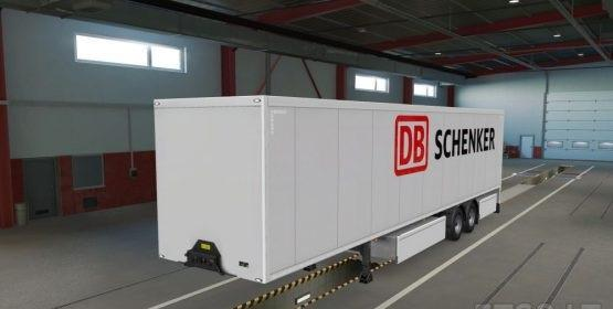 DB Schenker + WeKeepEuropeMoving Paintjob by Ulas