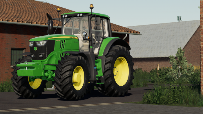 John Deere 6M (2015 and 2020) Large Frame