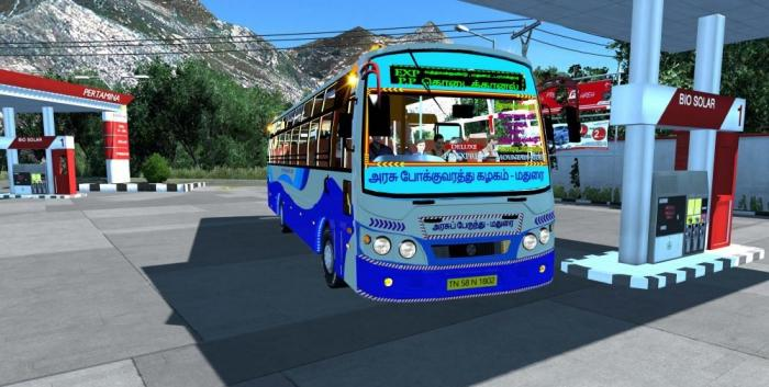 TNSTC 2018 and 2020 Bus Mod by BIJU MON for 1.37 to 1.39