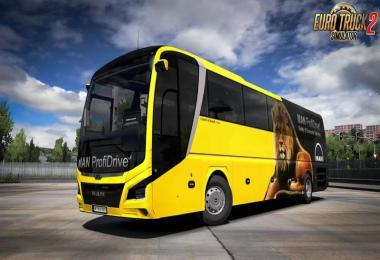 MAN LIONS COACH 2017 OPTIVIEW BUS + INTERIOR V1.1