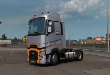 LOW DECK CHASSIS ADDON FOR SCS RENAULT RANGE T V1.3 1.39