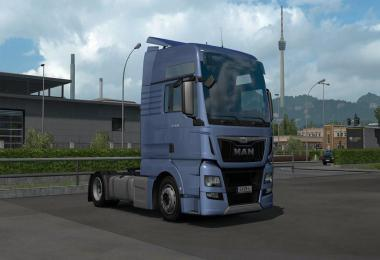 LOW DECK CHASSIS ADDON FOR SCS MAN TGX E6 V1.1 1.39