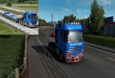 ROSTOCK TRANS SKIN FOR MERCEDES BENZ ACTROS 2014 1.39