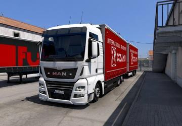 Tandem Krone addon for MAN TGX E6 version 2.2 (11/18/20)