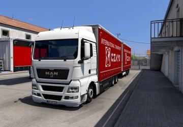 Krone Tandem Addon for MAN TGX E5 version 1.1 (11/18/20)