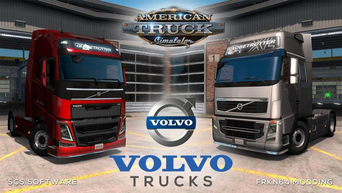 VOLVO FH16 Trucks Mod v6.2 for ATS (by Frkn64)