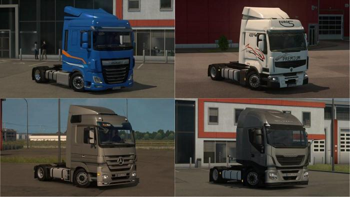 LOW DECK CHASSIS ADDONS FOR SCHUMI'S TRUCKS BY SOGARD3 V4.7.2