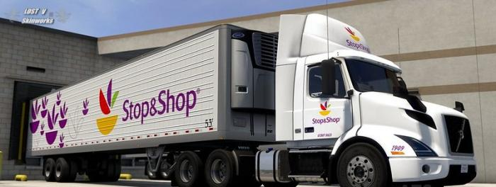 Stop and Shop Volvo VNR combo pack