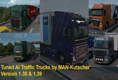TUNED TRUCKS IN AI TRAFFIC V1.1