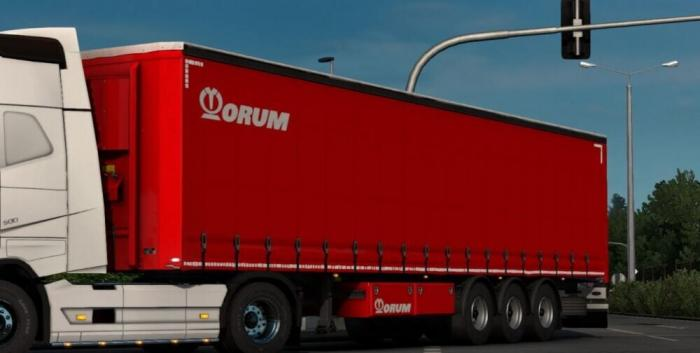 ORUM red Trailer