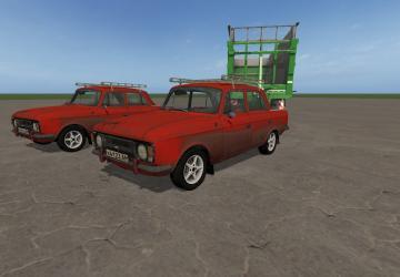 Moskvich 412 (red)